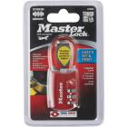 Master Lock 1.19 In. Steel Shackle Combination Padlock (TSA Accepted) Image 2