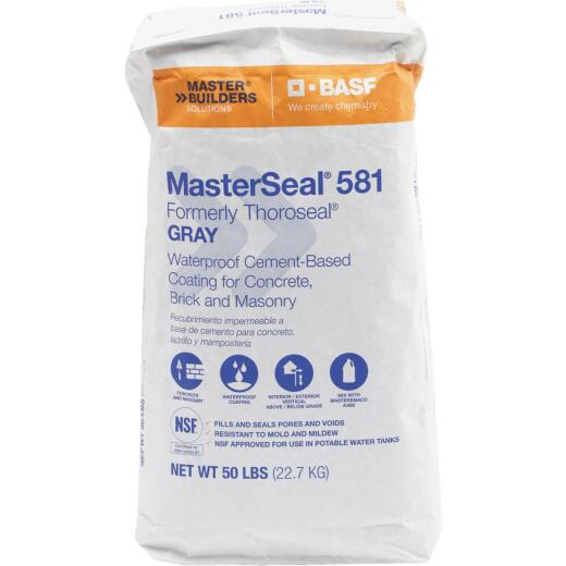 MasterSeal 581 50 Lb. Gray Masonry Waterproofer