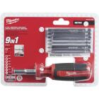 Milwaukee 9-in-1 Metric Hex Multi-Bit Screwdriver Image 1
