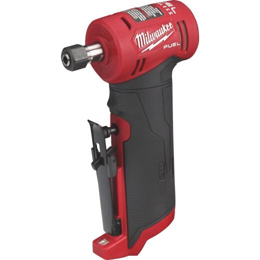 Milwaukee M12 FUEL 12 Volt Lithium-Ion Brushless 1/4 In. Right Angle Cordless Die Grinder (Bare Tool)