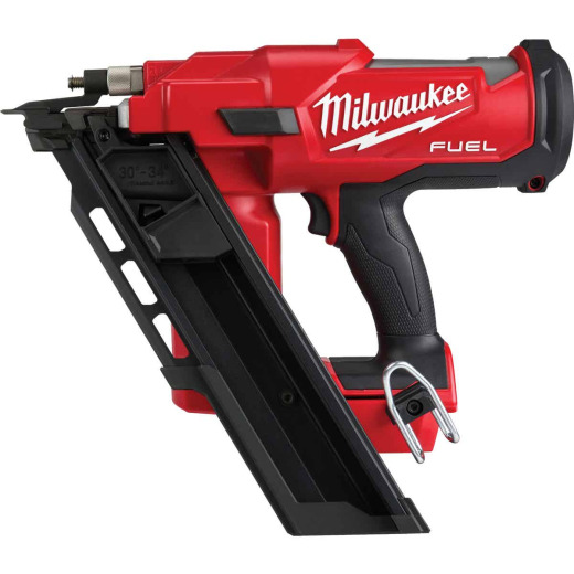 Milwaukee M18 FUEL 18-Volt Lithium-Ion Brushless 30 Degree Cordless Framing Nailer (Bare Tool)