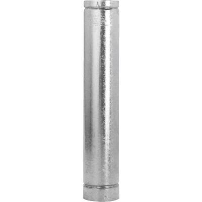 SELKIRK RV 6 In. x 3 Ft. Round Gas Vent Pipe