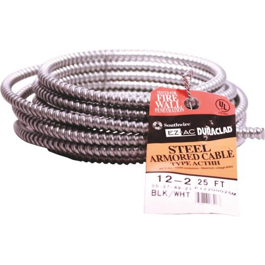 Southwire 25 Ft. 12/2 AC Armored Cable