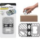 Nite Ize Financial Tool 7-In-1 Stainless Steel Multi-Tool Image 1