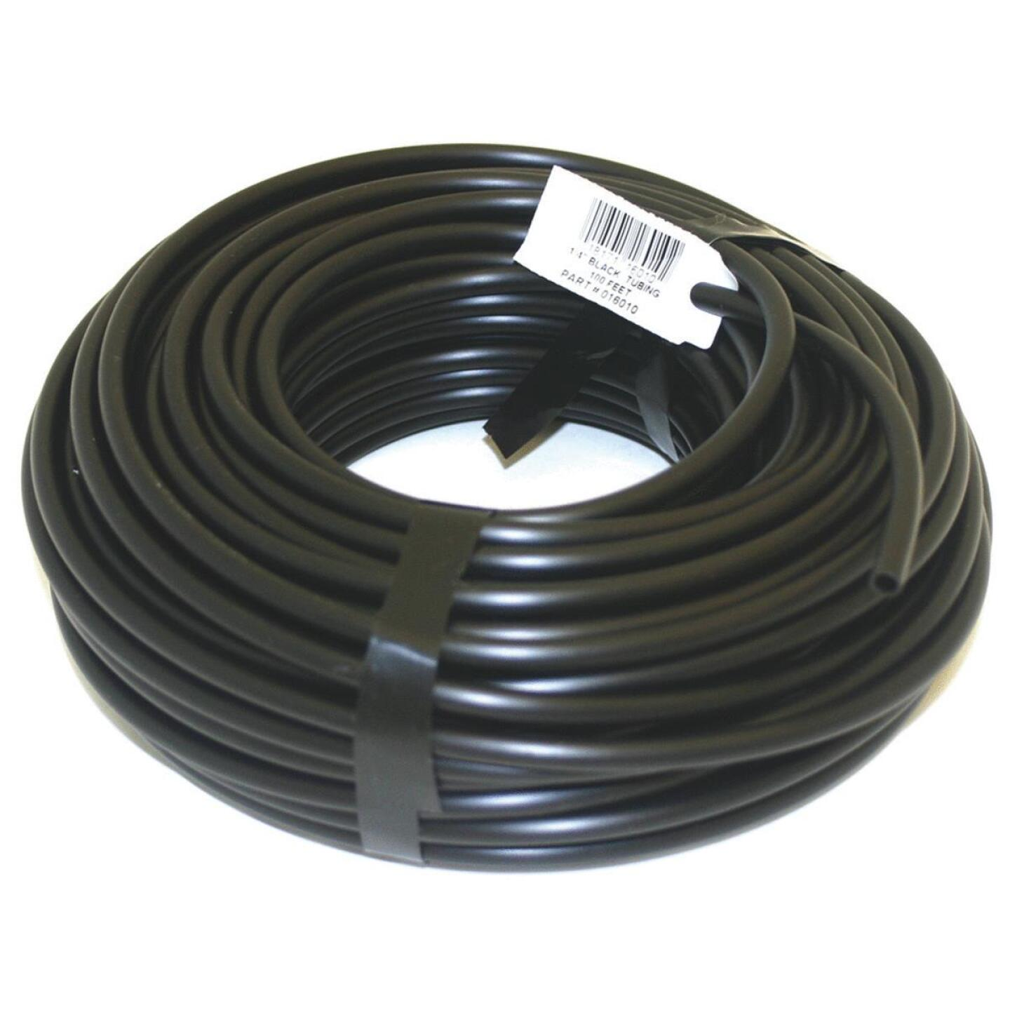Raindrip 1/4 In. X 100 Ft. Black Poly Primary Drip Tubing Image 1