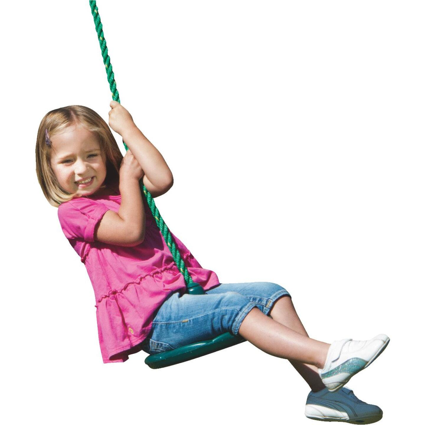 Swing N Slide Shooting Star Green Disc Swing Image 3