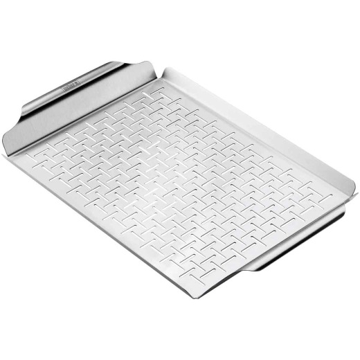 Weber Style Stainless Steel Grill Pan
